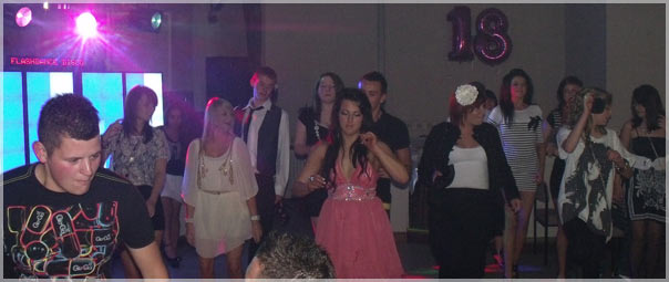Discos for Birthday Parties & DJ in Bishop Auckland, Hartlepool, Darlington, Newton Aycliffe, County Durham, Washington & Sunderland
