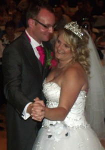 Bishop Auckland Town Hall Wedding DJ Provided By Flashdance Disco For Lisa & Karl Forster.