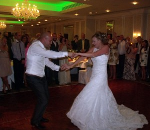 Rockliffe Hall Hotel Wedding DJ For Zoe And Chris Provided By Flashdance Disco