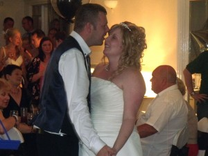 Helme Park Hall Wedding DJ For Barbara And Chris Provided By Flashdance Disco