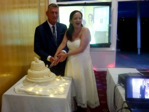 Bishop Auckland Golf Club Wedding DJ For Melanie & Michael Provided By Flashdance Disco