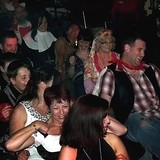 """Fancy Dress Party At Bishop Auckland Rugby Club By Flashdance Disco • <a style=""""font-size:0.8em;"""" href=""""http://www.flickr.com/photos/75541140@N02/7153801565/"""" target=""""_blank"""">View on Flickr</a>"""